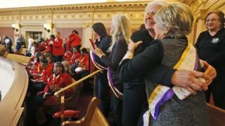 Photos: Virginia Attorney General sues to get Equal Rights Amendmentrecognized