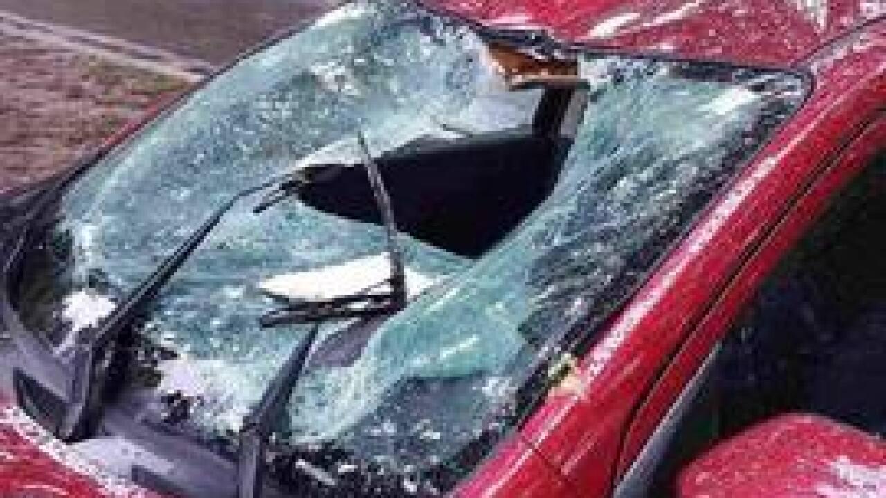 Tulsa couple: Tornado sends car 10 feet into air