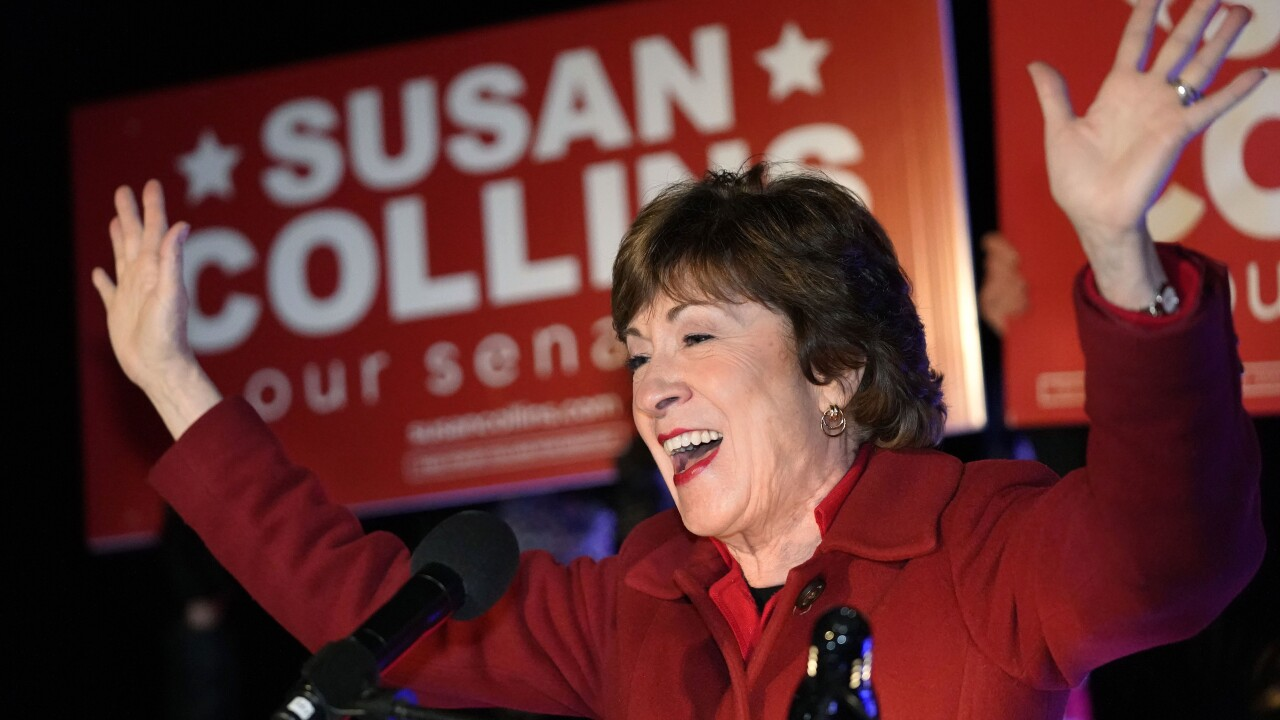 GOP Sen. Susan Collins wins reelection in Maine after Sara Gideon concedes