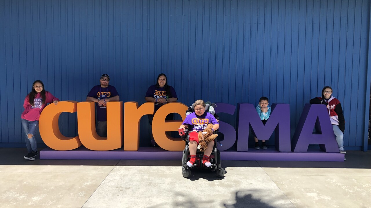 Copperas Cove family uses personal story to highlight SMA Awareness Month