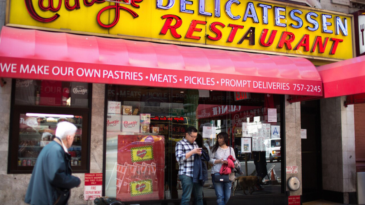 Carnegie Deli closing: Iconic New York restaurant shutting down at end of year