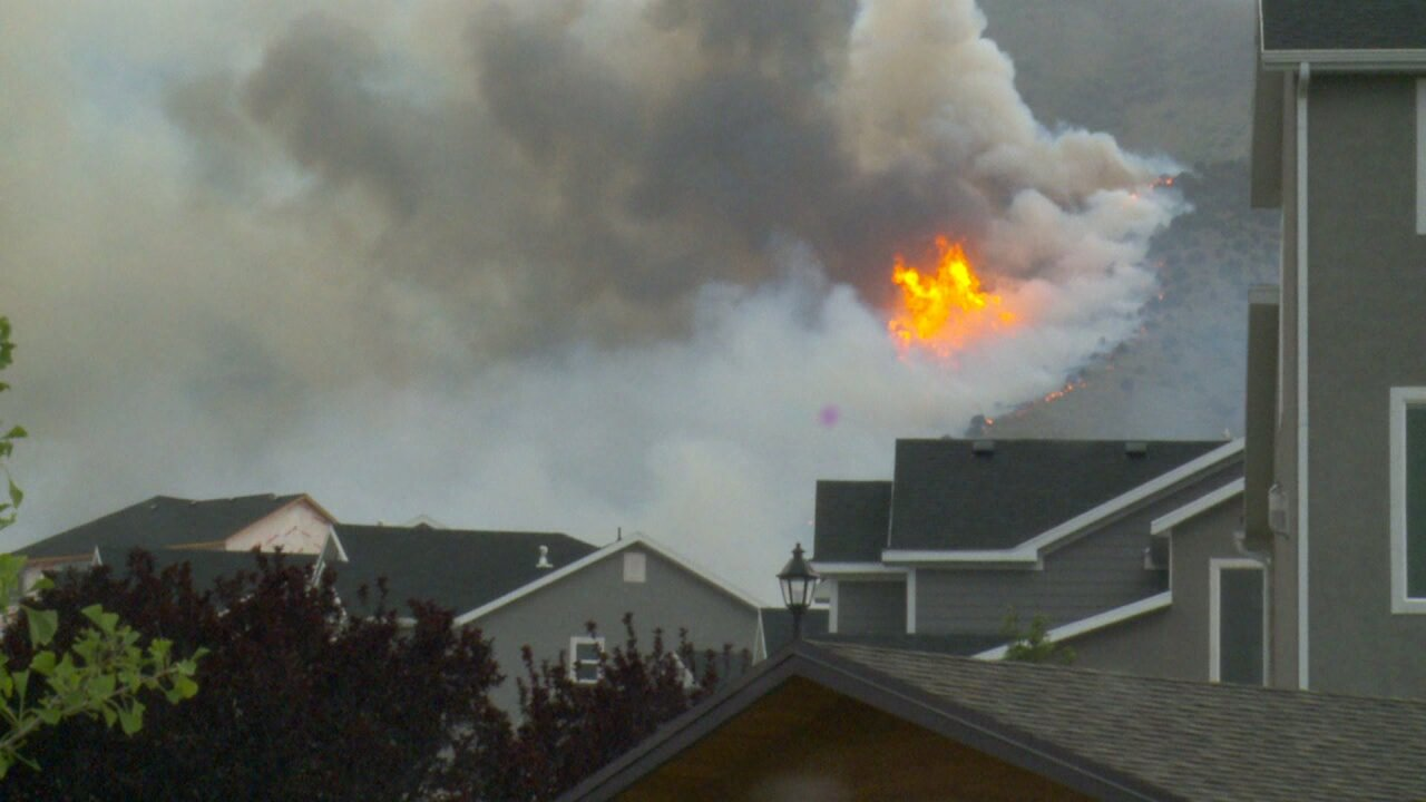 Knolls Fire