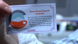 Free Food Truck Lunch