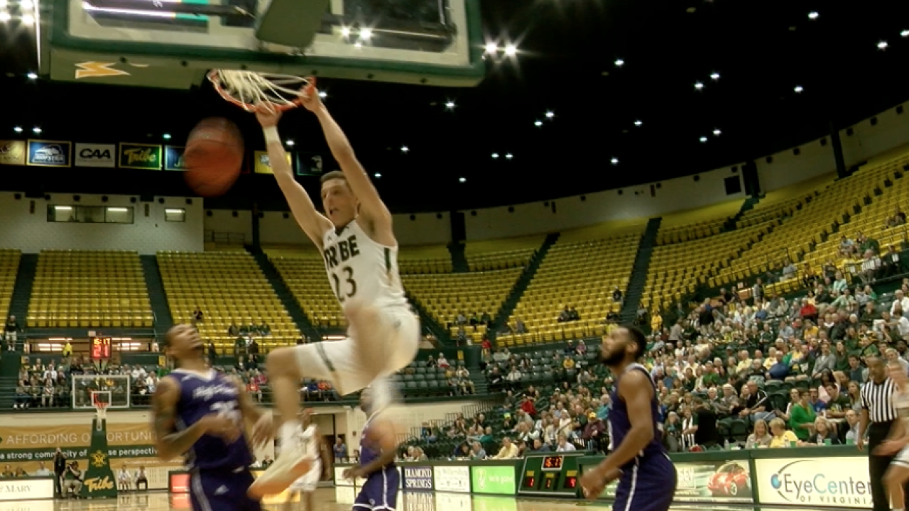 William & Mary opens men's hoops season on a 'High Point' with a win