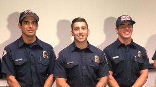 Henderson firefighter heroes