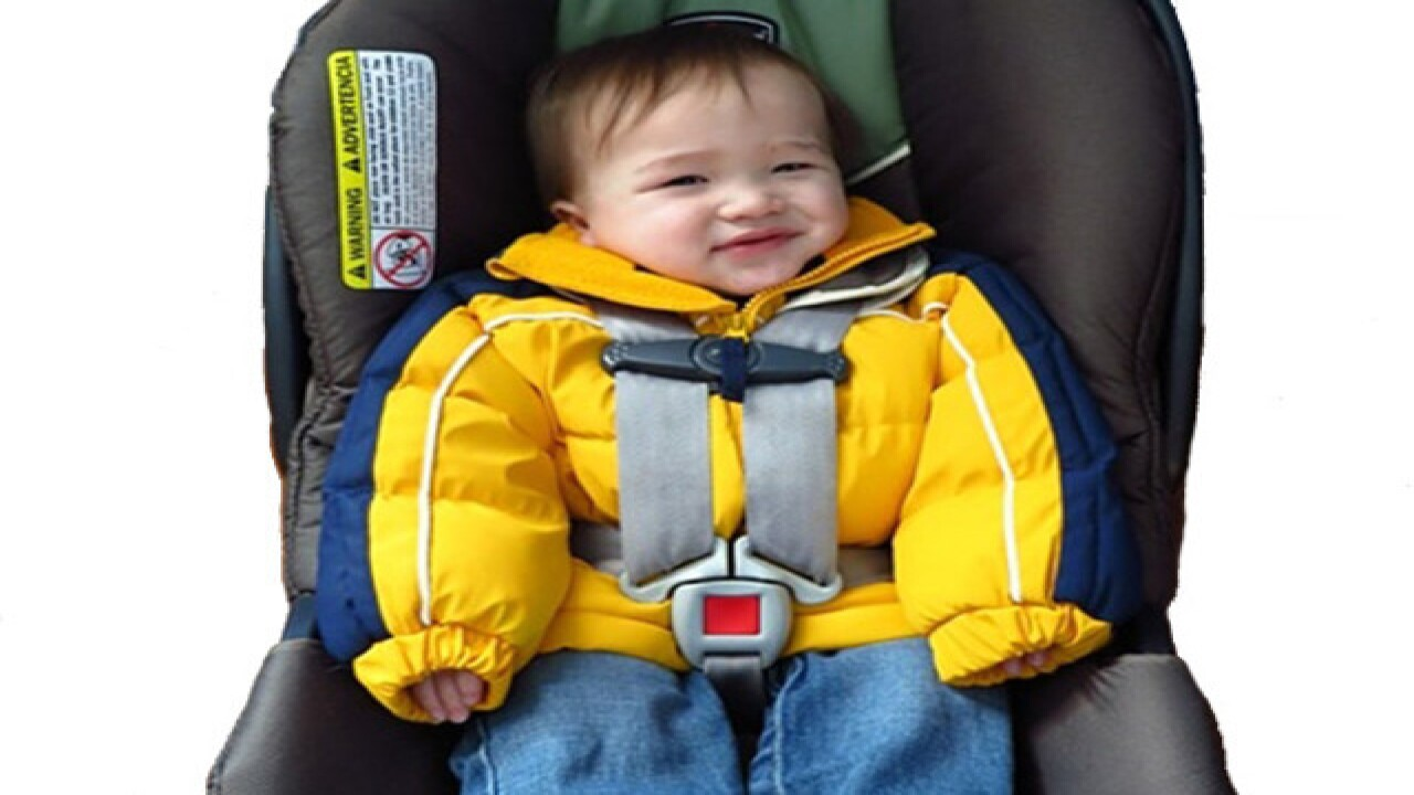 744710c46 Warning about puffy coats on kids in car seats