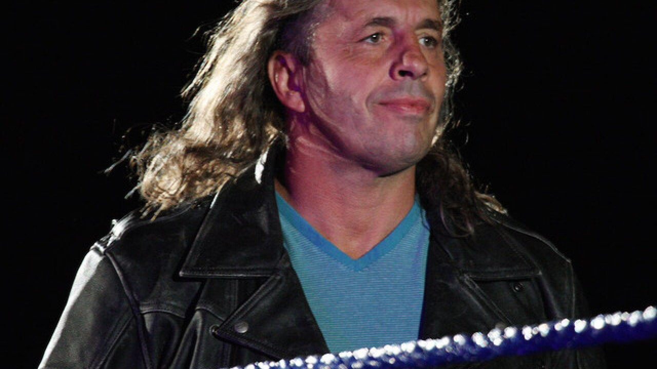 WWE wresting icon Bret 'Hitman' Hart has cancer
