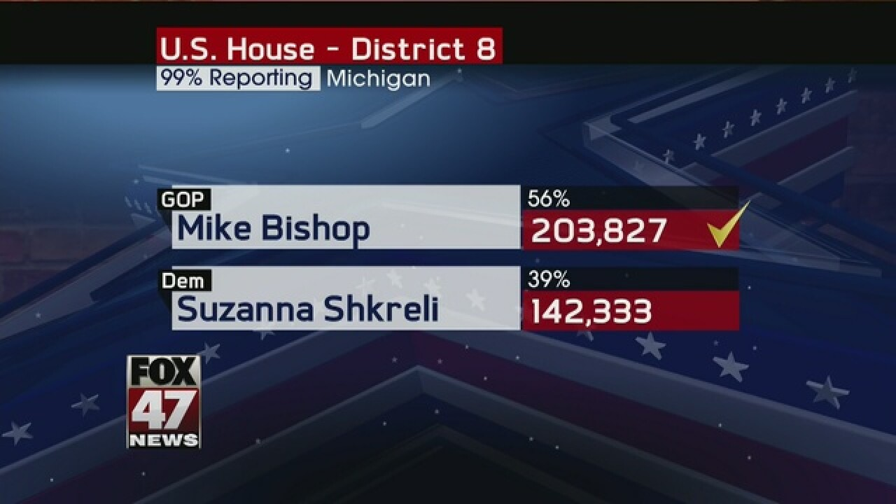 Bishop, Moolenaar win Congressional seats