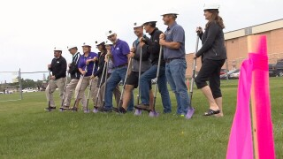 Laurel sports facility ground breaking