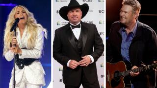Country stars from Oklahoma