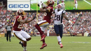 Redskins drop fifth straight game, lose to Patriots33-7