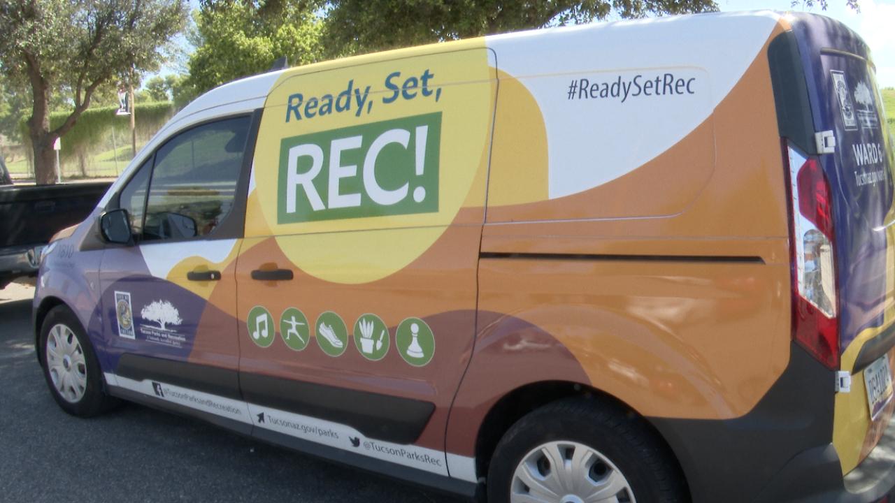 Ready, Set, Rec! Program Van