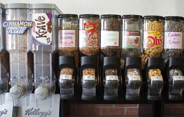 Crunch50: Phoenix 'cereal bar' serves nearly 50 kinds of cereal