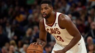 NBA fines Tristan Thompson for obscene gesture directed towards unkind Nets fan