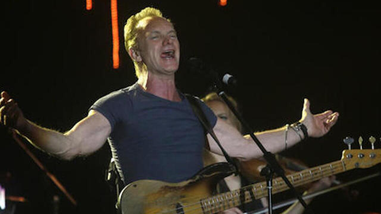 Sting to give 1st concert at Paris' Bataclan since attacks