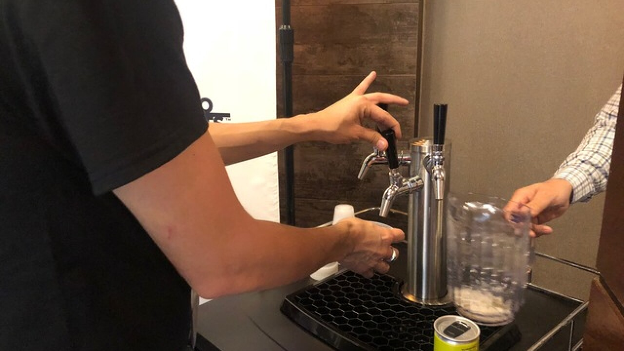 Las Vegas dispensary introduces pot-infused beer