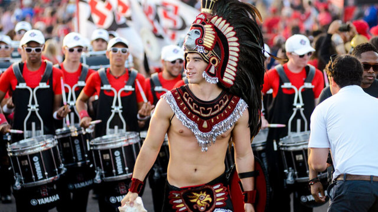 San Diego State forming task force to review whether to keep Aztec Warrior mascot