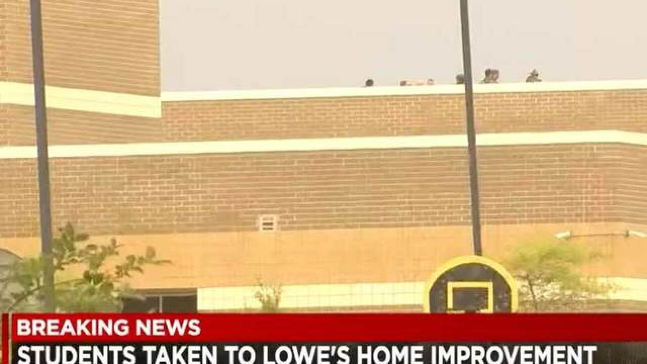 Reports of active shooter at North Carolina school turns out to be malfunctioning water heater