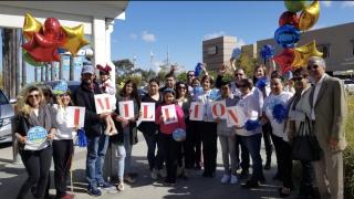 Emilio Nares Foundation celebrates one million miles