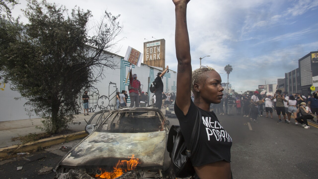 Americans wake up to damage after some protests over Floyd death turn violent