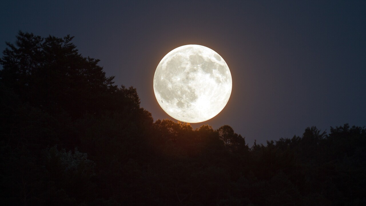 'Super Worm Moon' to be visible on Monday night