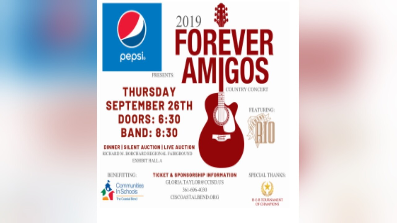 Forever Amigos benefit concert