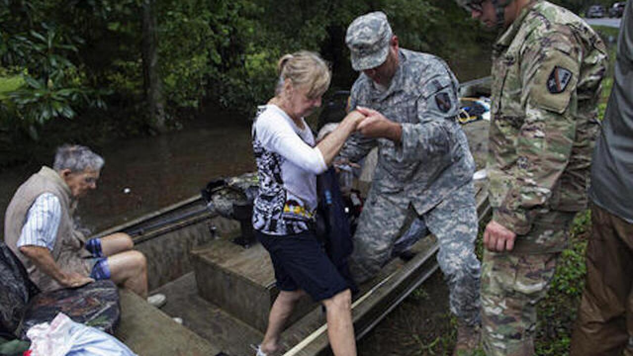 Floods in Louisiana 'unprecedented'