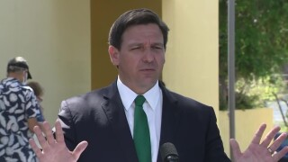 Florida Gov. Ron DeSantis gives a COVID-19 update in Palm Harbor on March 17, 2021.jpg