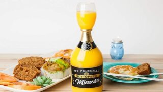 Bottomless Mimosa Glass Holds 8 Drinks For The Ultimate Boozy Brunch