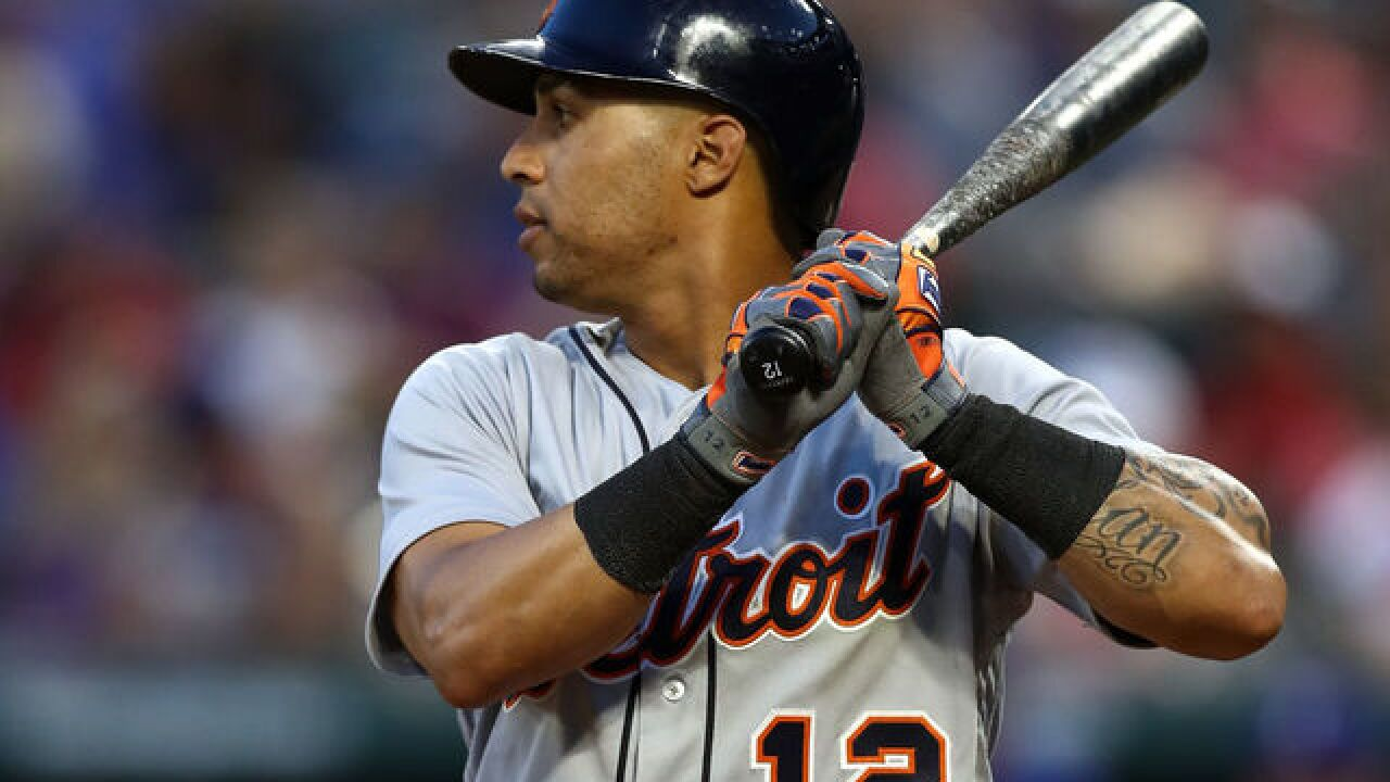 Tigers trade Leonys Martin to Indians infield prospect Willi Castro