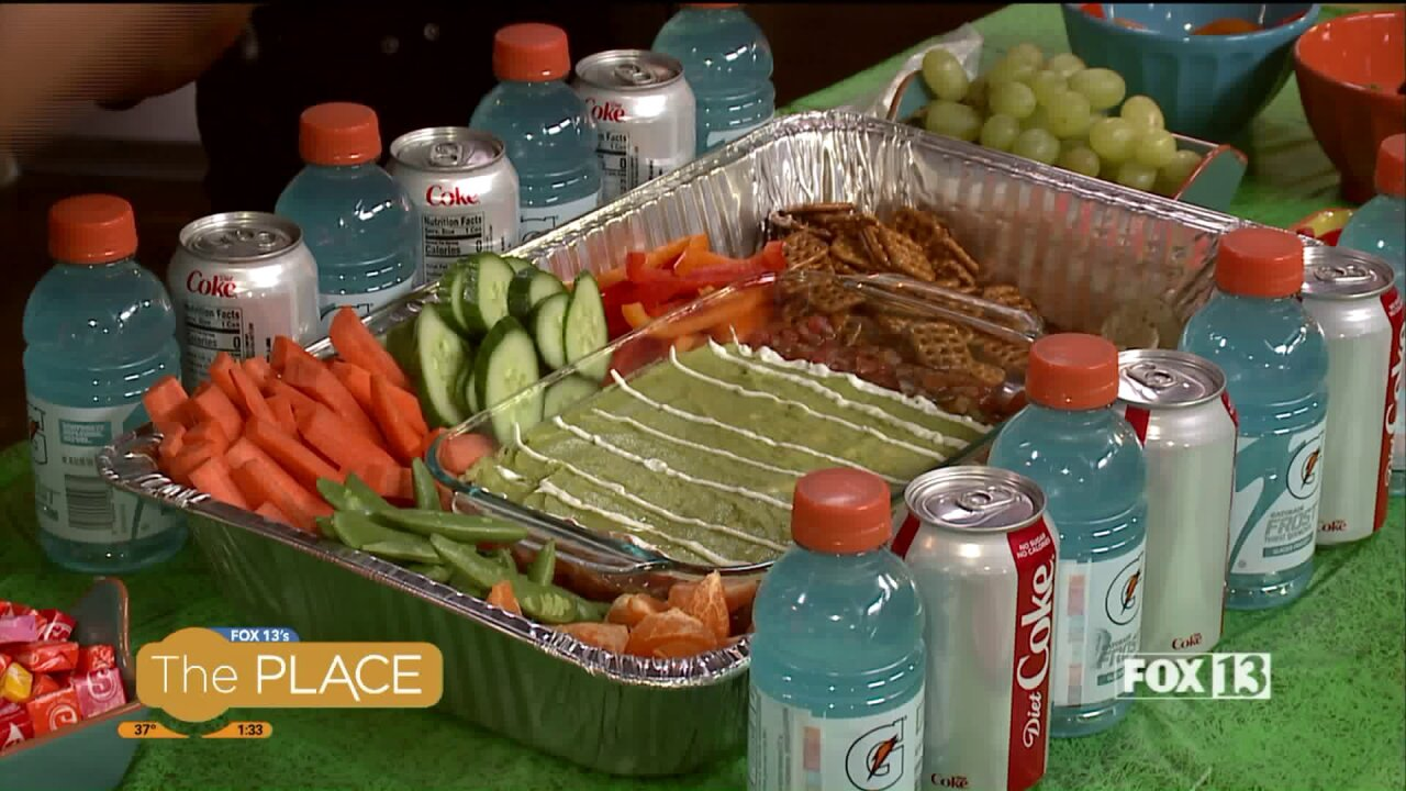 """This """"Snack Stadium"""" is the perfect big game fingerfood"""