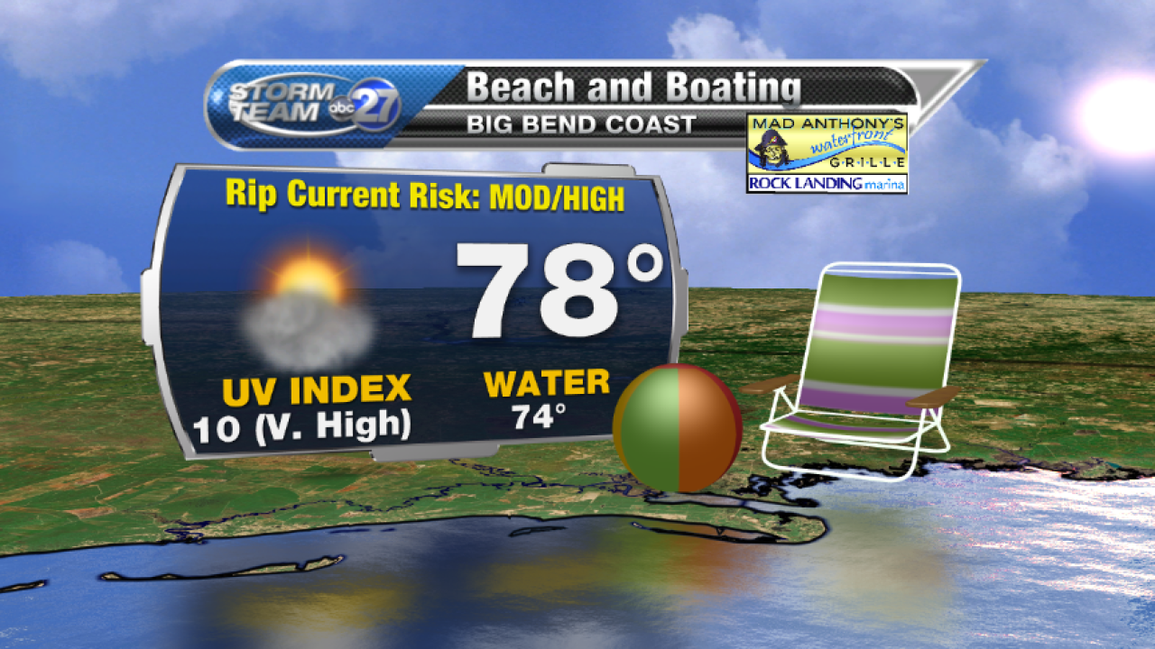 Beach and Boating forecast B (04/26/2017)