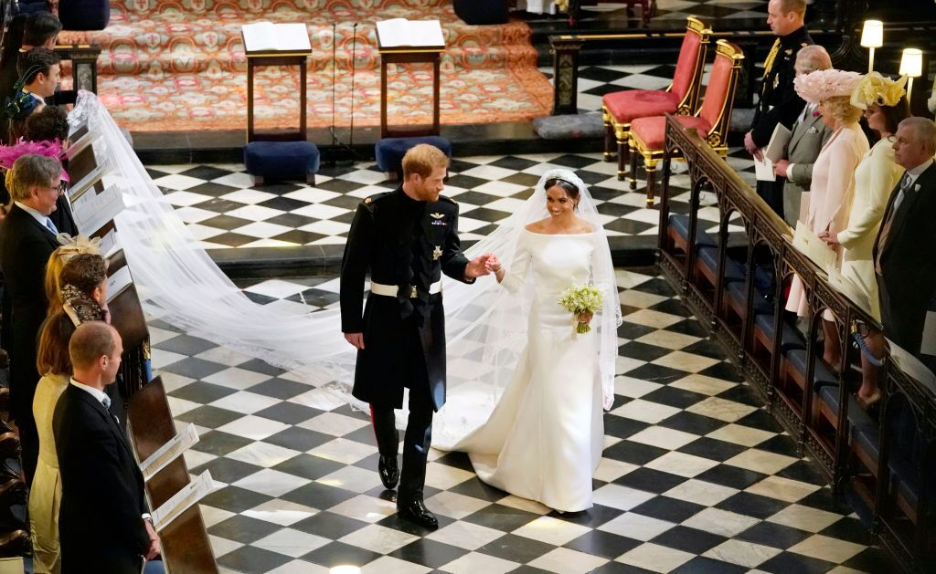 Photos: Harry and Meghan share behind-the-scenes pictures ofwedding