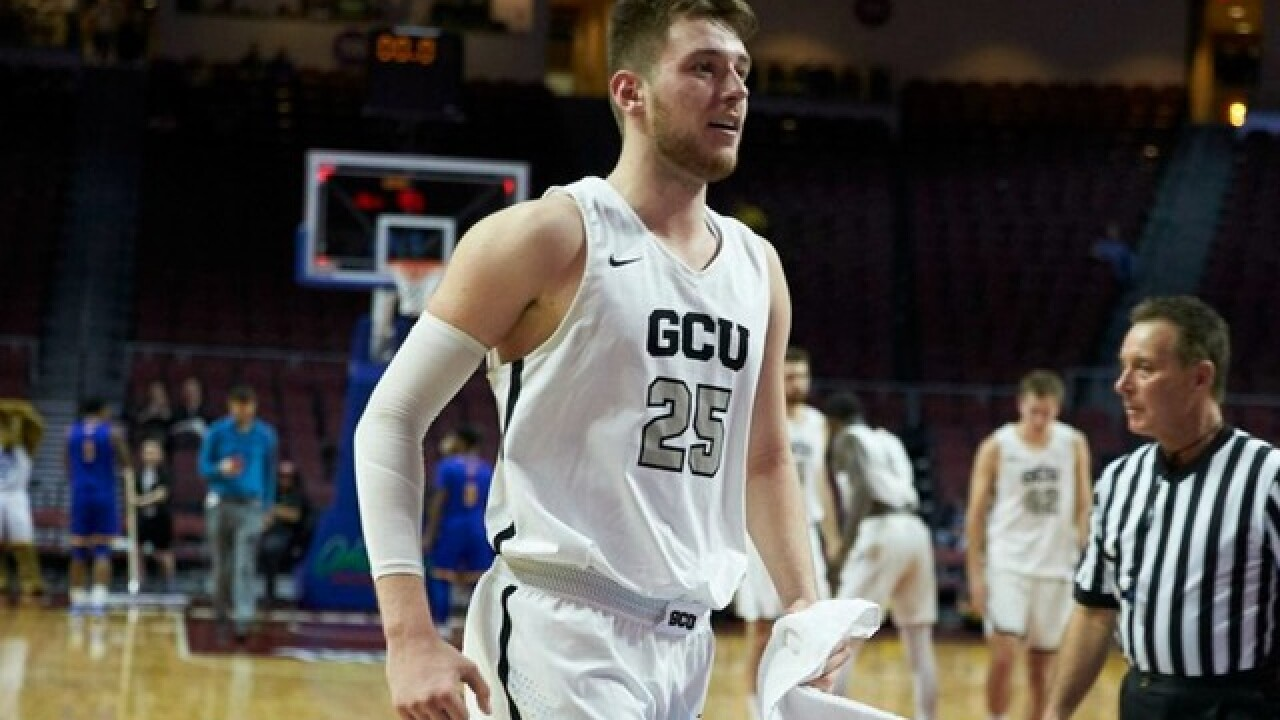 GCU rallies to win 1st-ever postseason game, moves on to WAC Tournament semifinals