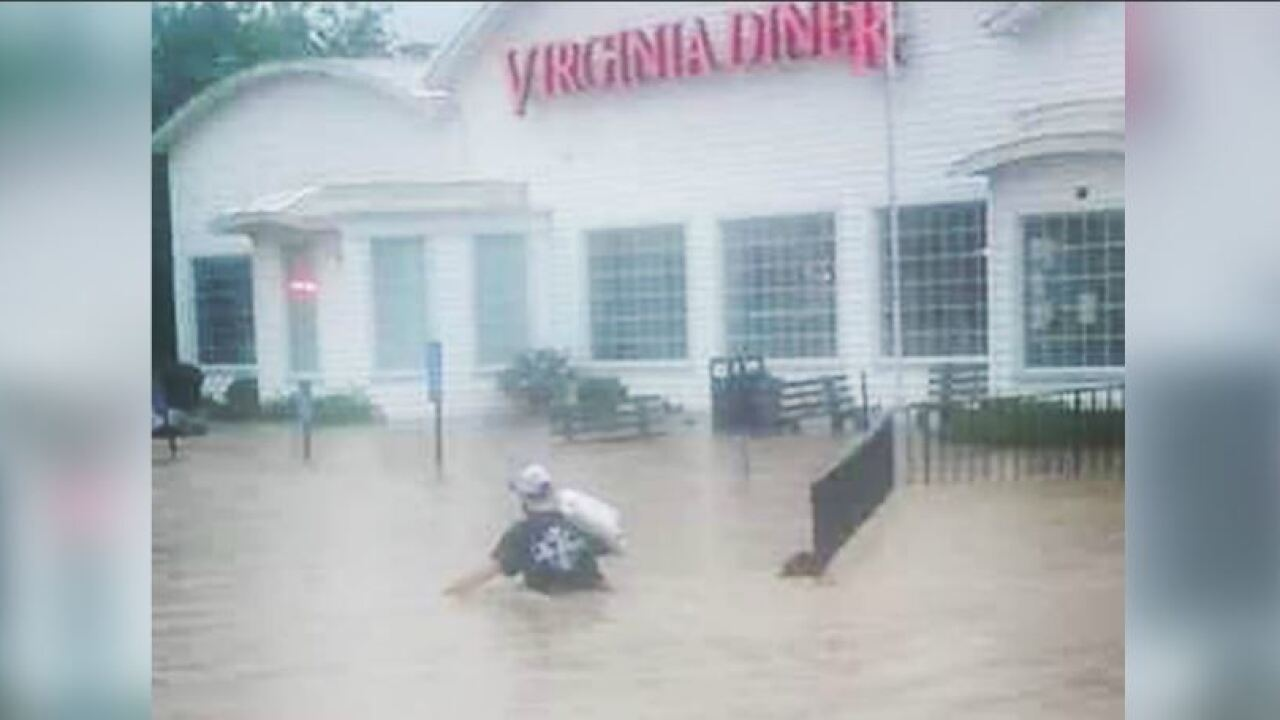 Virginia Diner reopens afterflooding
