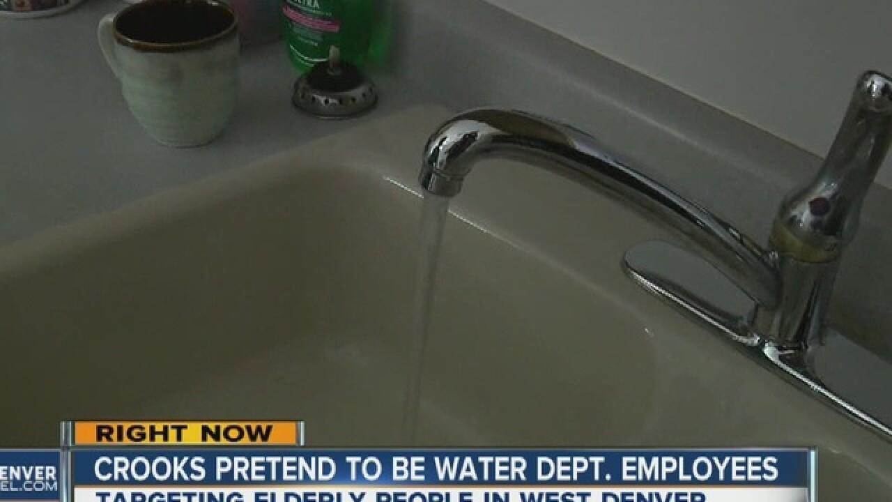 Fake water dept. employees scam elderly