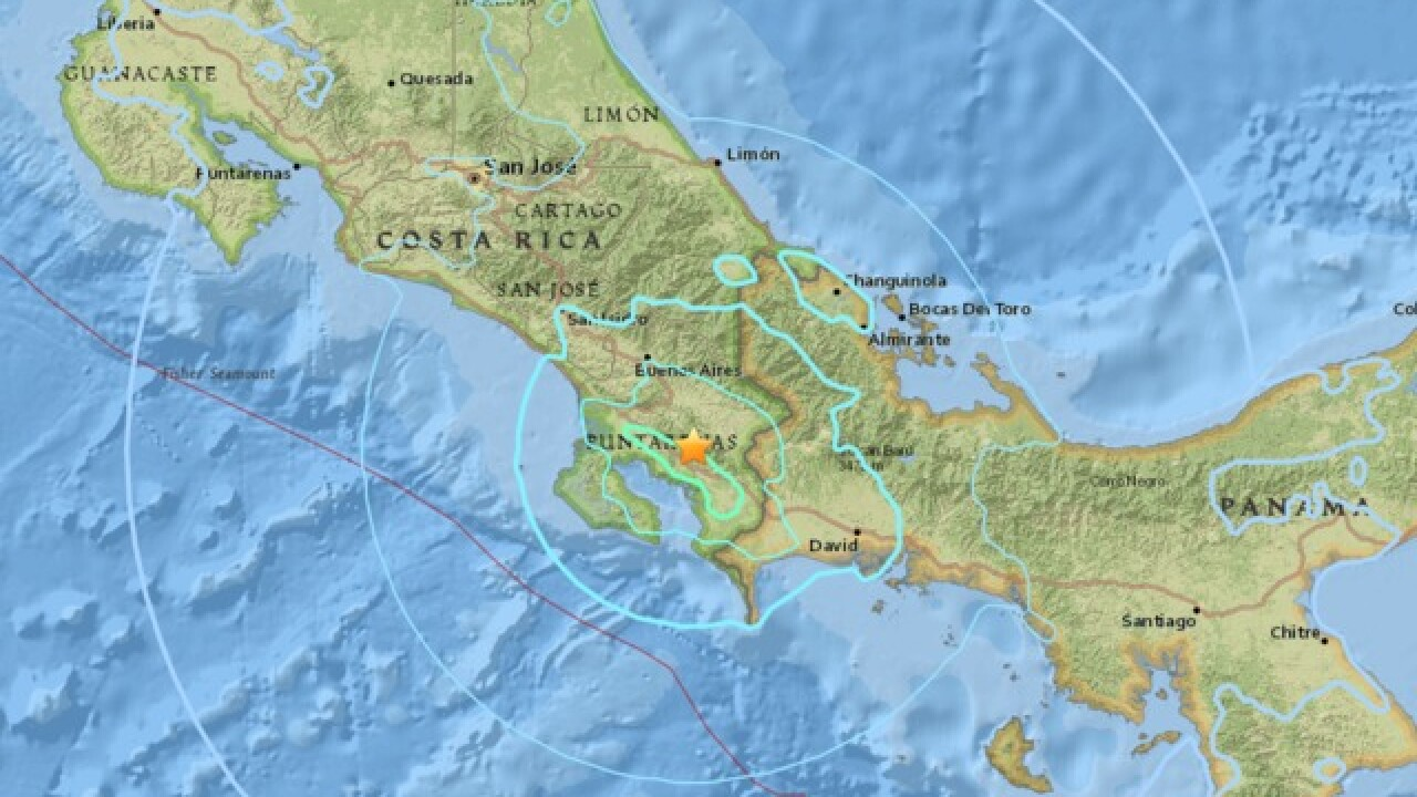 6.0-magnitude earthquake rocks Costa Rica