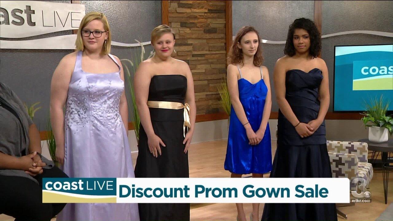 A preview of the 11th Fairy Godmothers $10 Prom Dress Sale on CoastLive