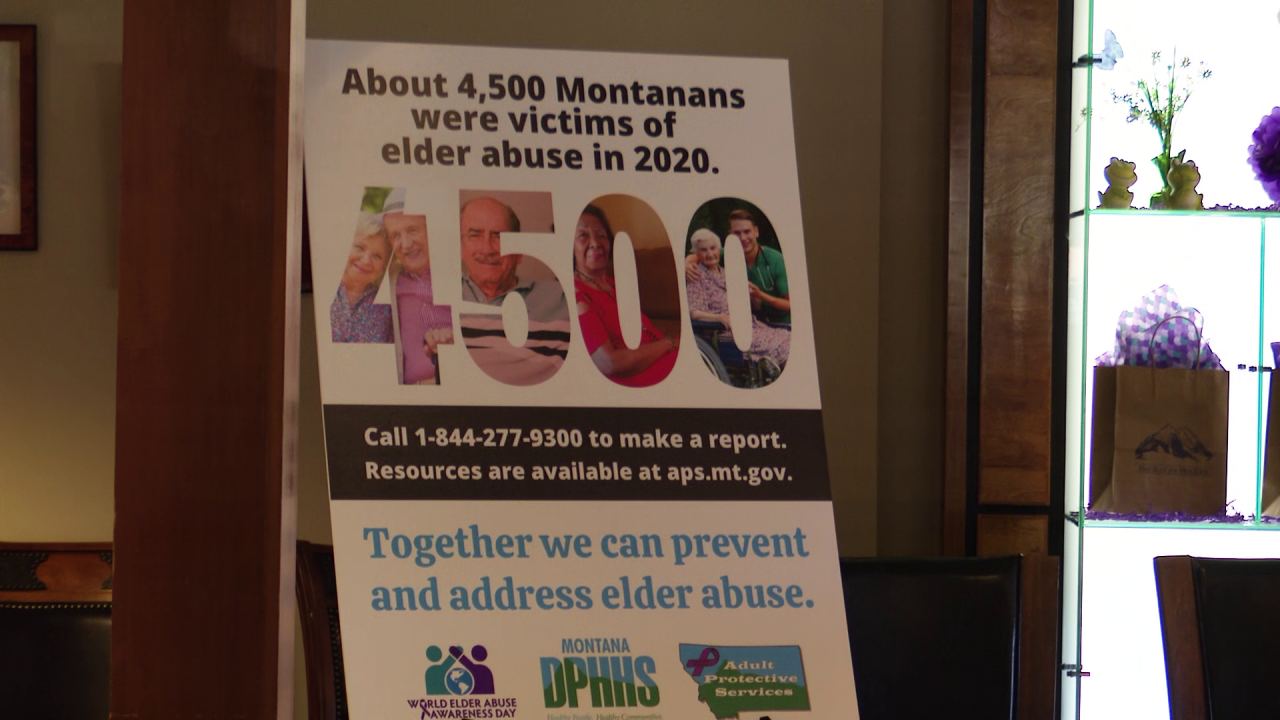 Montana civic leaders work to raise awareness about elder abuse