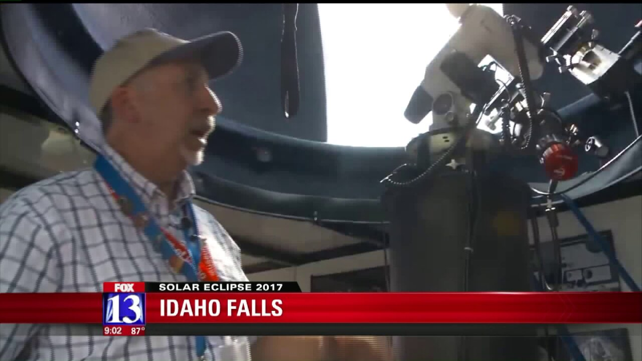 Mobile observatory in Idaho Falls will share eclipse views with NASA TV
