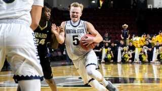 Photos: Montana State men get past Idaho at Big Sky Conference tournament