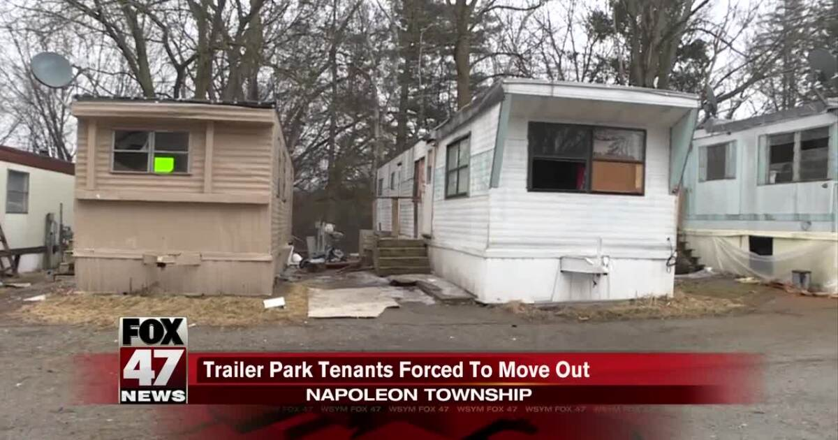 Video: Trailer Home Park Tennants Forced to Move Out