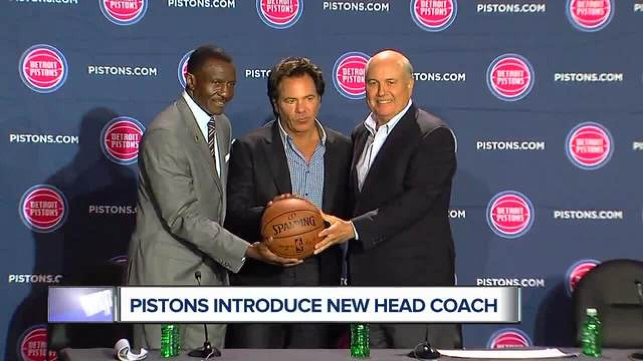 Pistons to introduce new head coach Dwane Casey