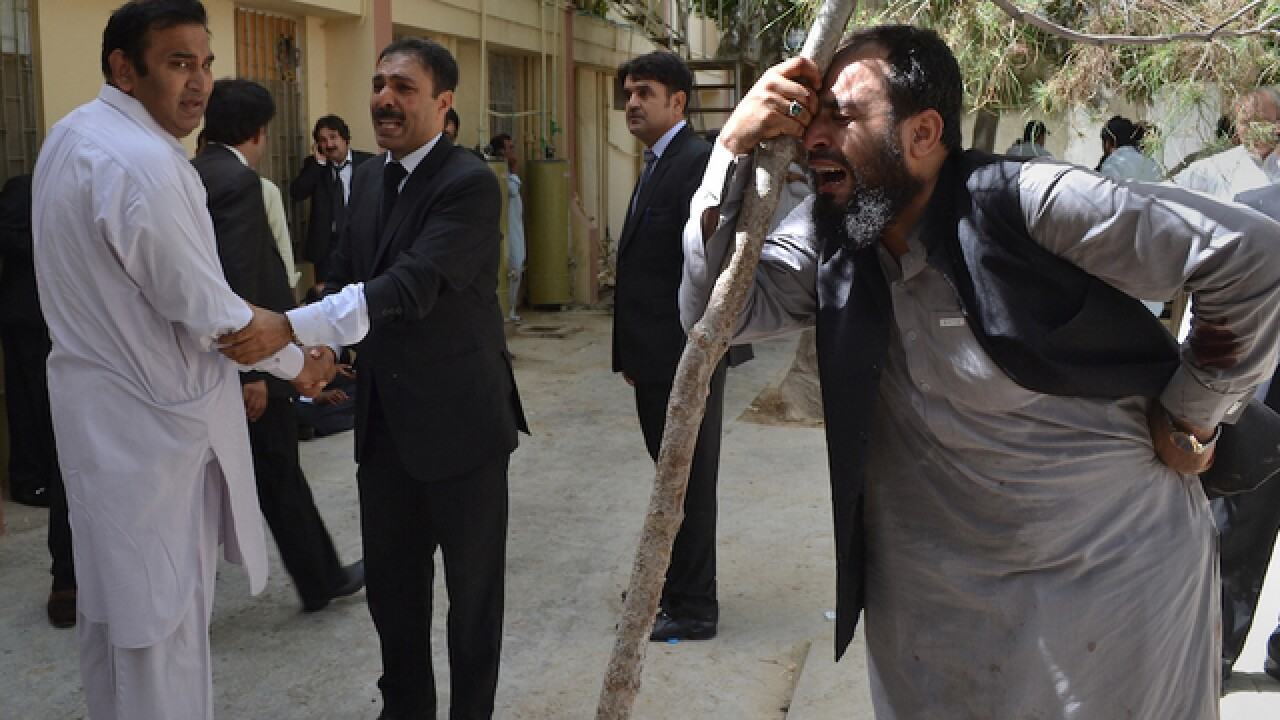 Bombing at Pakistani hospital kills 42