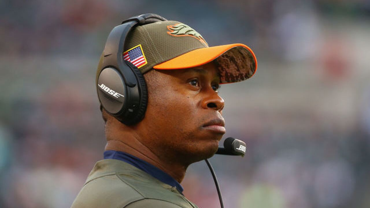 Woody Paige: Broncos should fire Vance Joseph