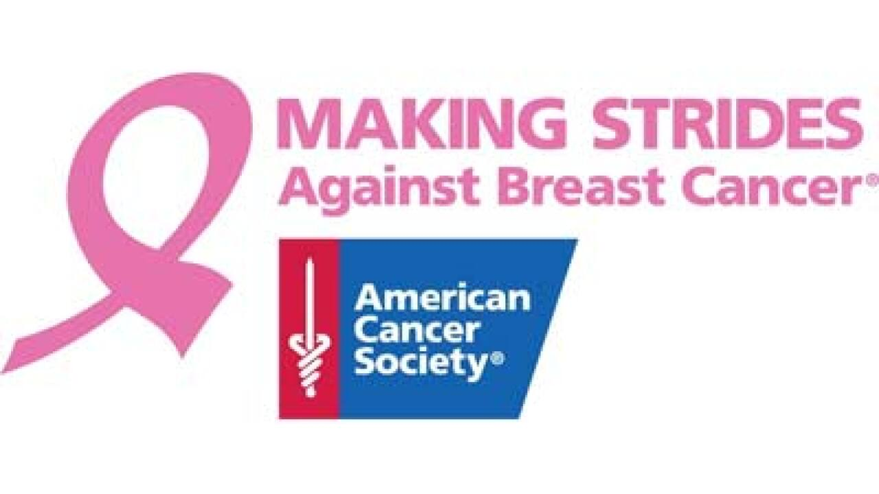 Five-mile walk Saturday to benefit breast cancer