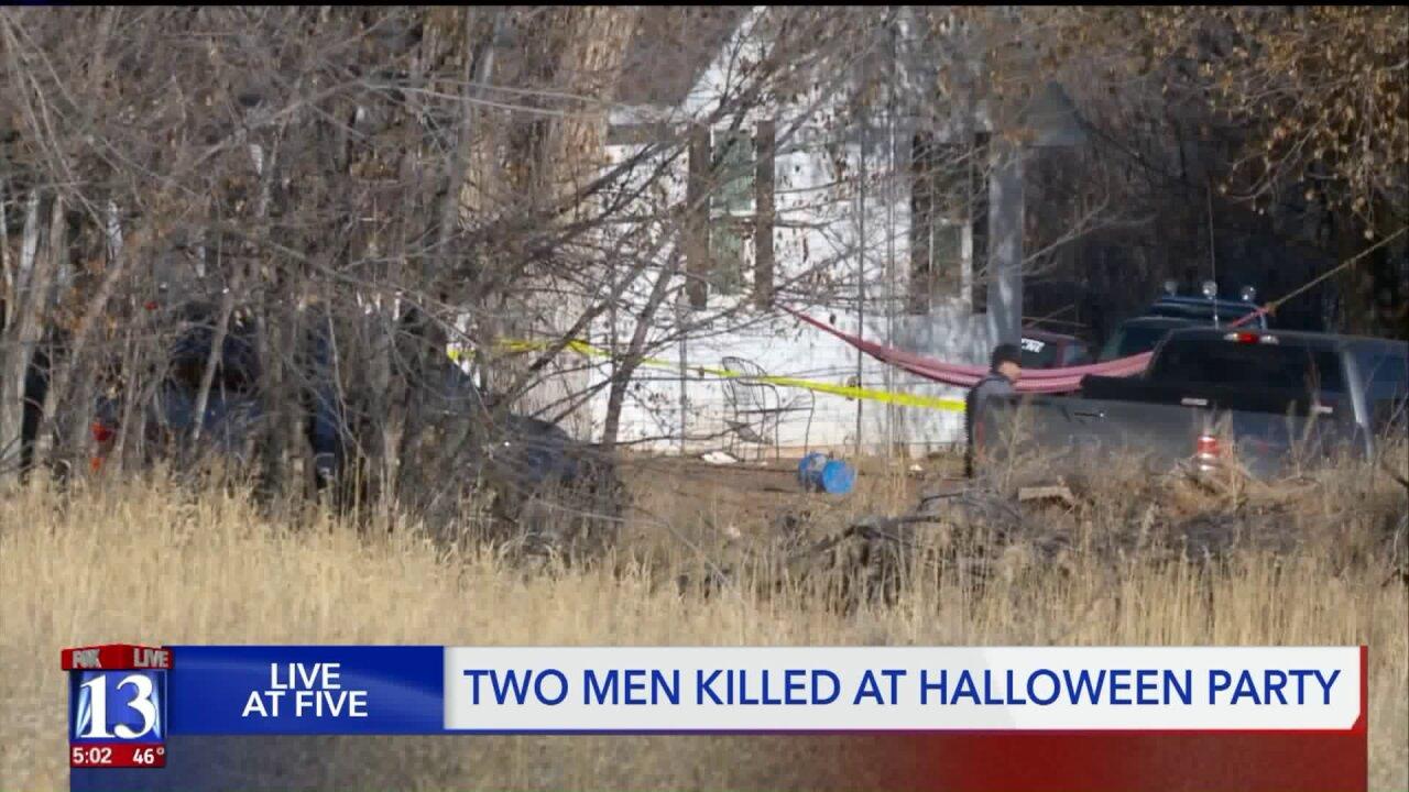 Sheriff's Office identifies two men killed at Halloween party nearRoosevelt