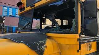 nyc bus arson