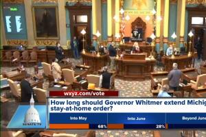 Michigan House & Senate vote to extend state's emergency declaration by 23 days