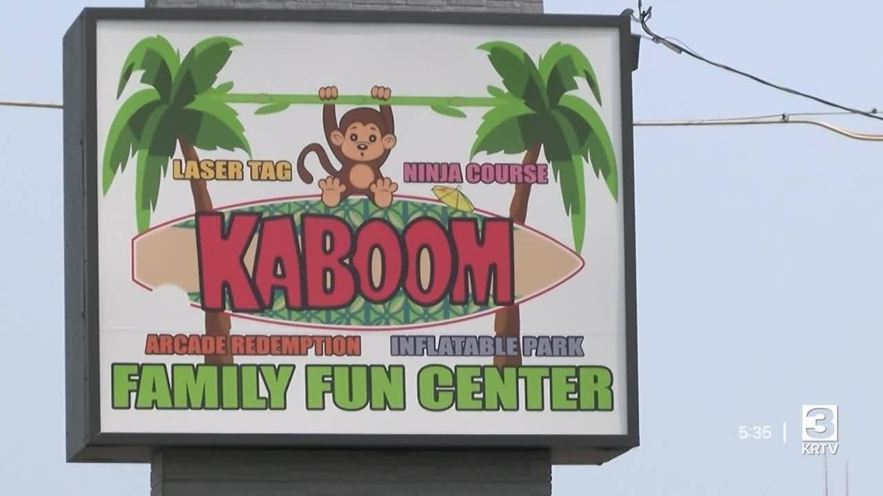 Kaboom Family Fun Center in Great Falls
